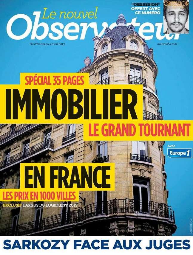 Le Nouvel Observateur N°2525 du 28 Mars au 3 Avril 2013