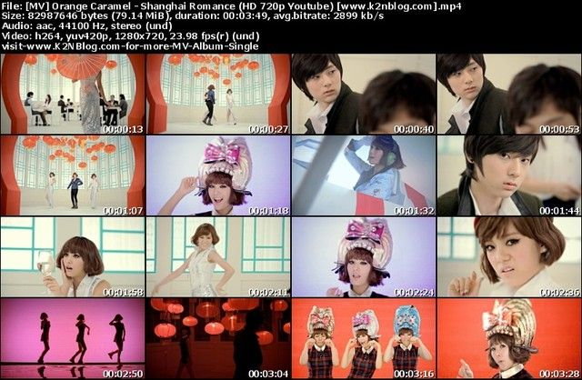 Orange Caramel - Shanghai Romance (HD 720p Youtube) MV Thumbnail