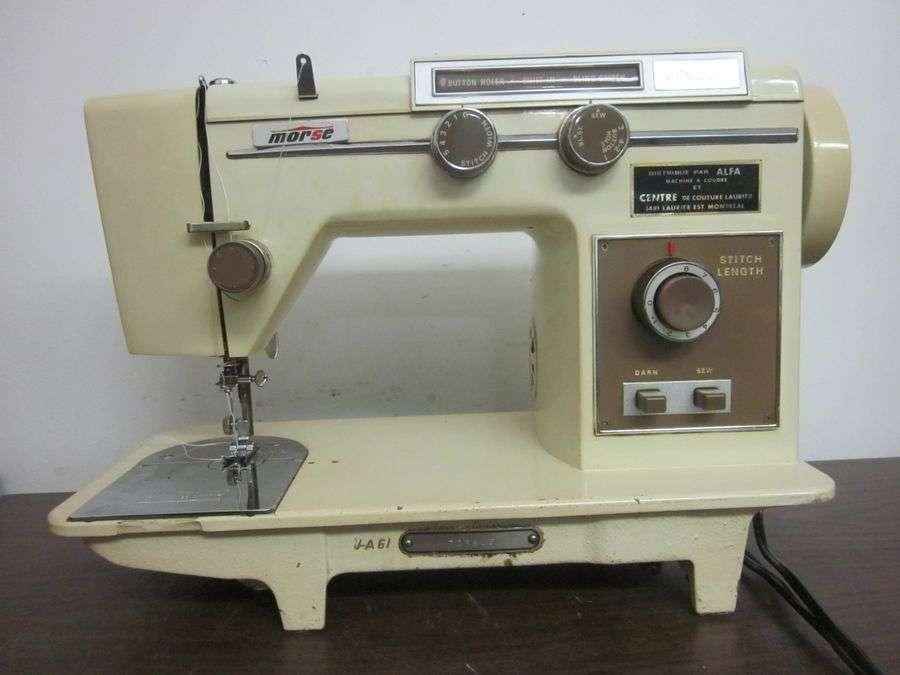 morse zig zag sewing machine