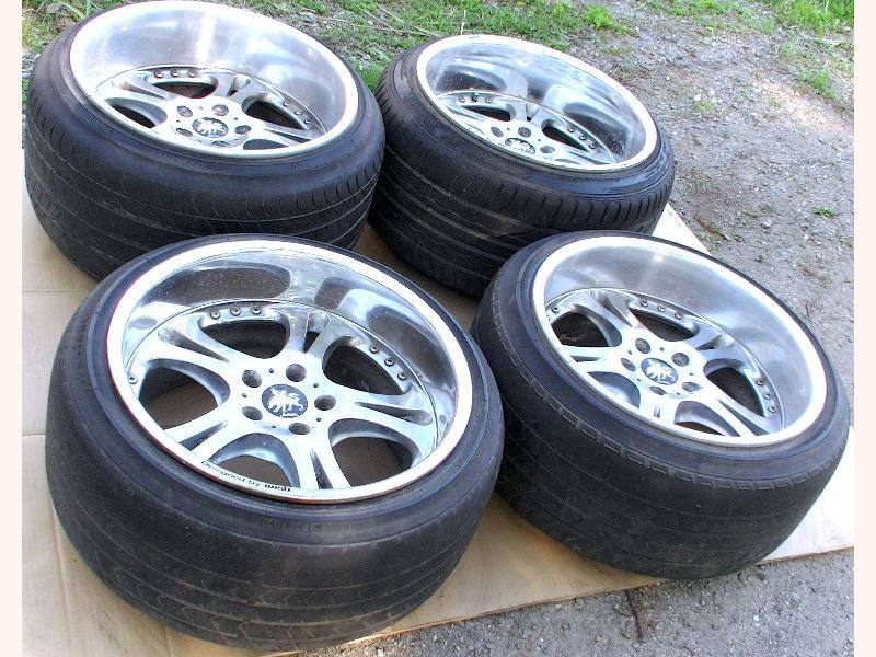 WEDS Kranze Cerberus 18 10.5J 12J 5x114 Rims Alloy Wheels UCF21