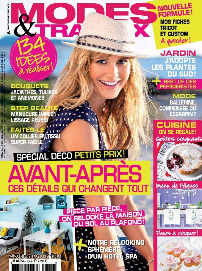 Modes & Travaux N°1349 Avril 2013