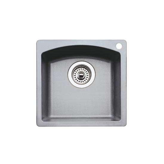 Blanco 440203 blanco diamond bar sink silgranit ii for Silgranit ii sinks