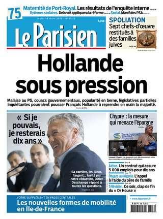 Le Parisien Mardi 19 Mars 2013