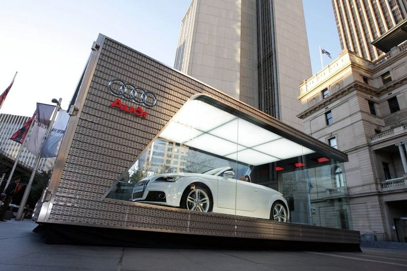 Super Cars News The Smallest Audi Dealership Of The World Audi - Audi car dealership