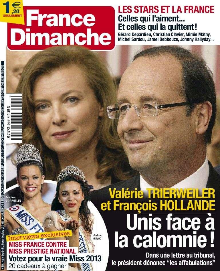 France Dimanche N°3459 du 14 au 20 Décembre 2012
