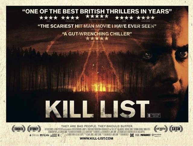 killlistposter Ben Wheatley   Kill List (2011)