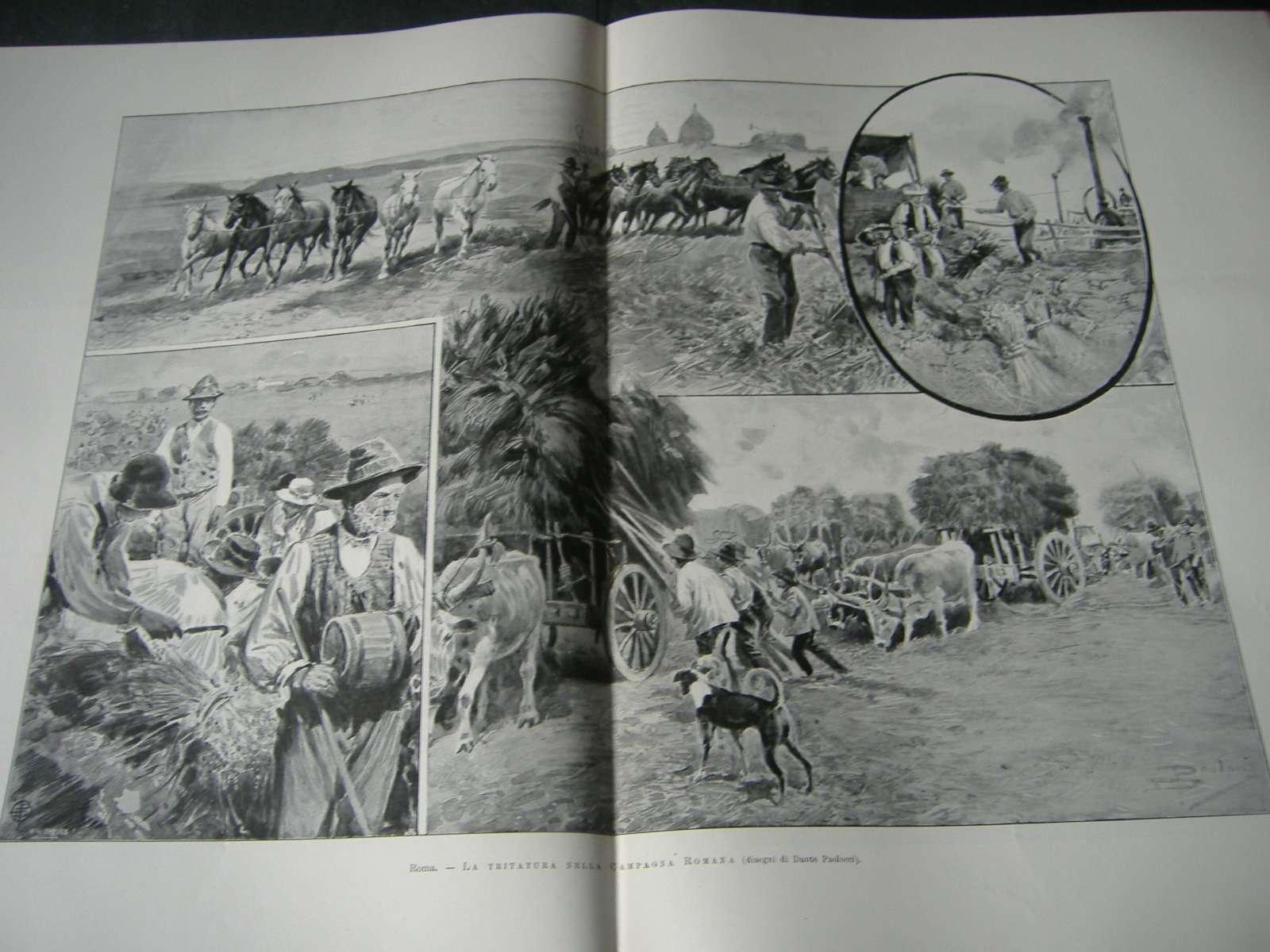 1902 eduardo vii campagna romana ordini religiosi roma for Via leone xiii roma