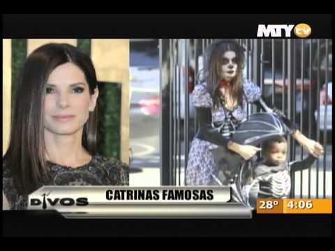 Las famosas que se vistieron de Catrinas