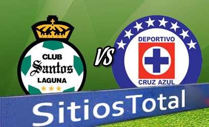 Santos vs Cruz Azul En Vivo