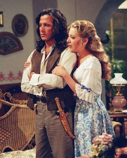 Eduardo Palomo y Edith González en Corazón Salvaje